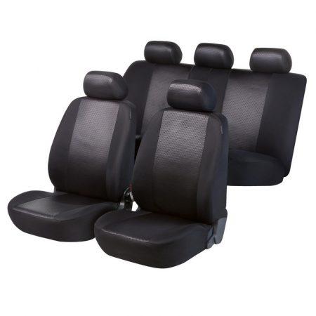 Üléshuzat garnitúra, WALSER Shiny Black, TÜV