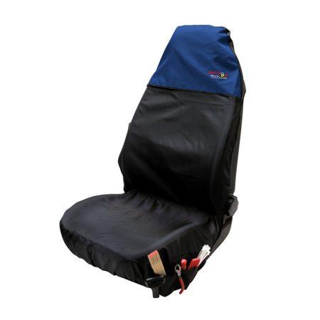 Ülésvédő WALSER OS fekete-kék