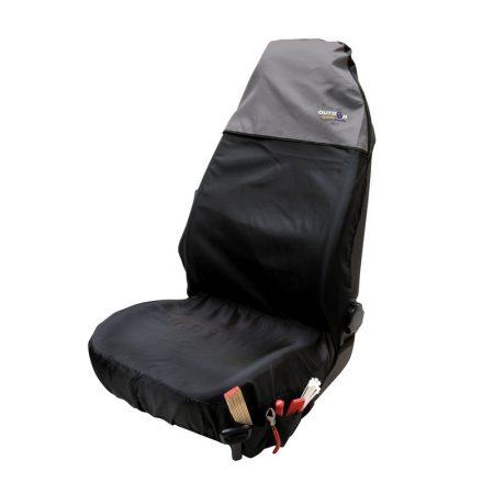 Ülésvédő WALSER OS fekete-szürke