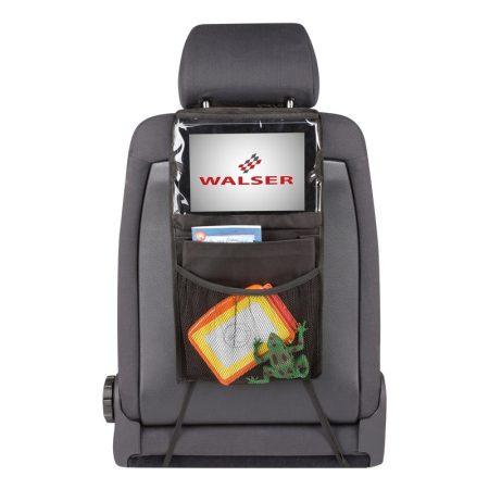 Tároló táska háttámlára, tablet tartóval WALSER 26146