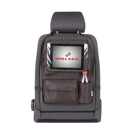 Tároló táska háttámlára, tablet tartóval WALSER 26147