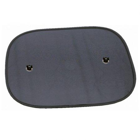 Napfényvédő, WALSER, oldalablakra 44x36 cm, fekete, 2 db