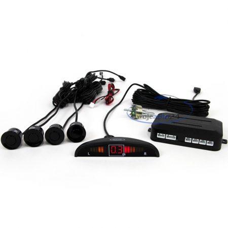 Tolatóradar 4 szenzor, hangjelzés+LED kijelző - 30489