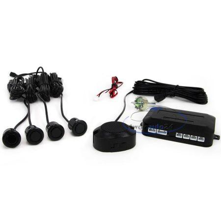 Tolatóradar 4 szenzor, hangjelzés - 30492