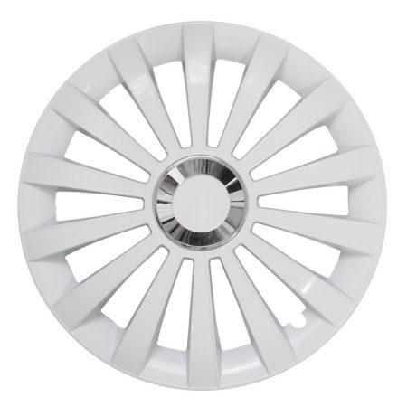 """Dísztárcsa 16"""" Jestic Meridian Ring White (4 db)"""
