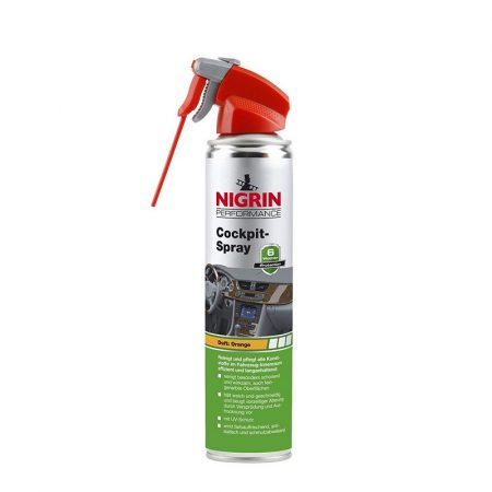 Műszerfalápoló spray 400 ml - Orange NIGRIN