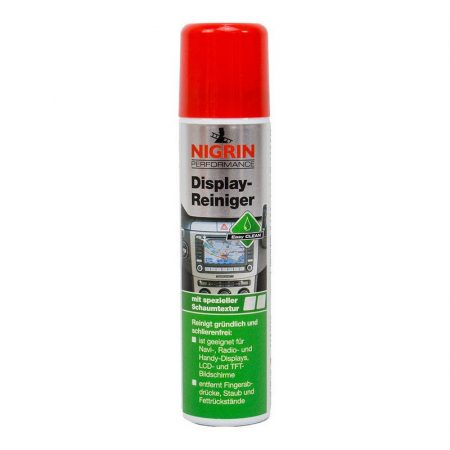 Kijelző- és képernyőtisztító hab spray 75 ml NIGRIN