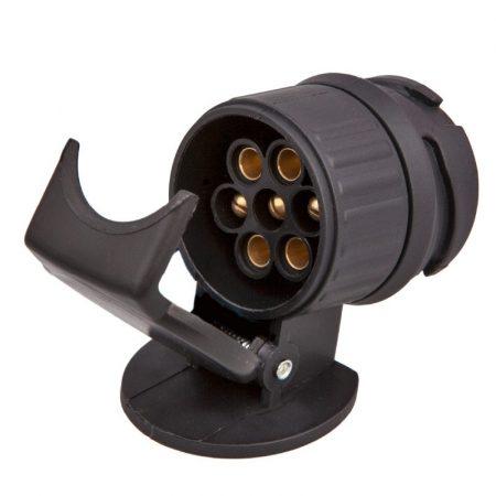 Utánfutó csatlakozó adapter 13-7 (7p. aljzat-13p. dugó)