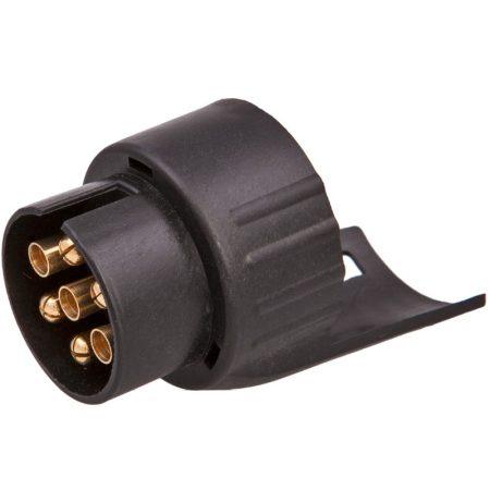 Utánfutó csatlakozó adapter 7-13 (13p. alj-7p. dugó)