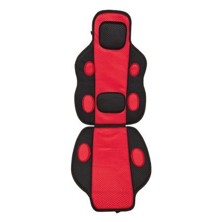 Ülésvédő, piros-fekete