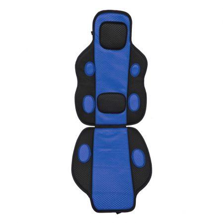 Ülésvédő, kék-fekete