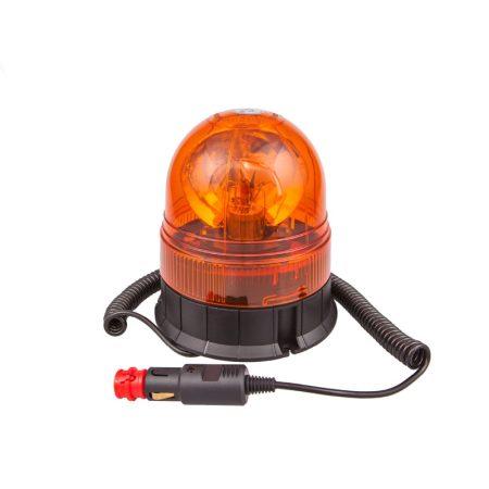 Villogó figyelmeztető jelzőfény 12V, H1, E-jel,mágneses