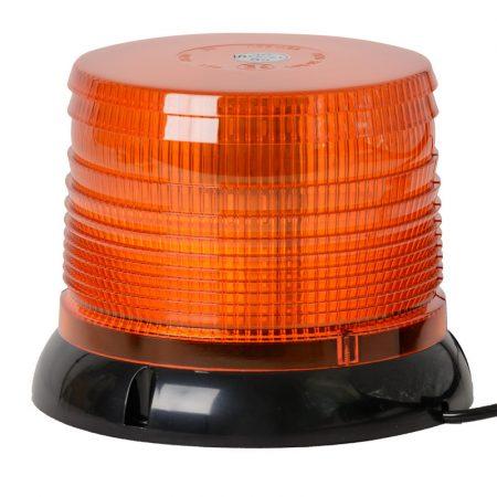 Villogó figyelmeztető jelzőfény 12-24V E-jel, mágneses, 40 LED
