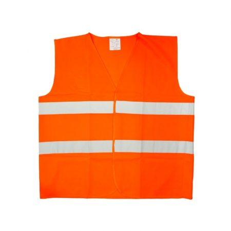 Fényvisszaverő mellény XL méret, narancssárga EN471
