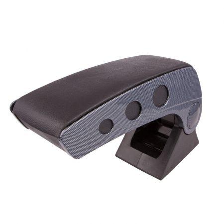 Könyöklő box carbon, 10 cm széles
