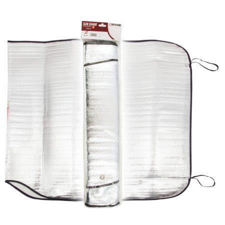 Napfényvédő, alu, 130x60 cm