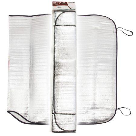Napfényvédő, alu, 150x80 cm