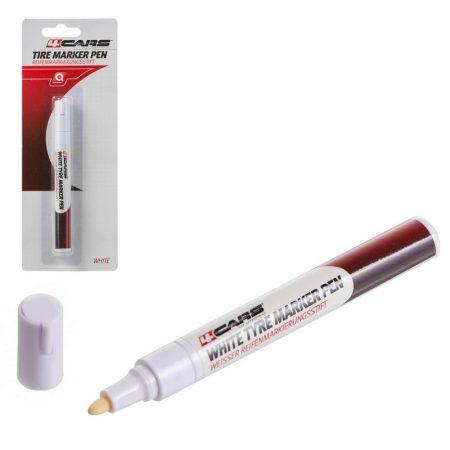 Gumijelölő filc, fehér - 96535