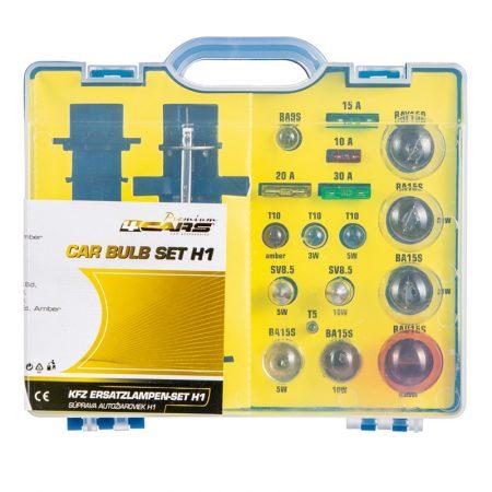 Izzókészlet H1 Premium Kit, 19 db-os