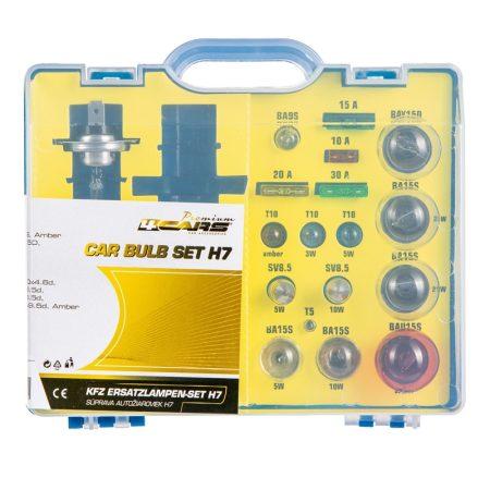 Izzókészlet H7 Premium Kit, 19 db-os
