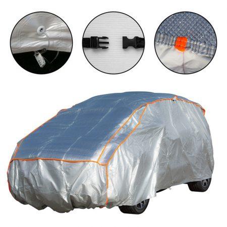 Autótakaró ponyva jégeső ellen XL méret, pamut belsővel