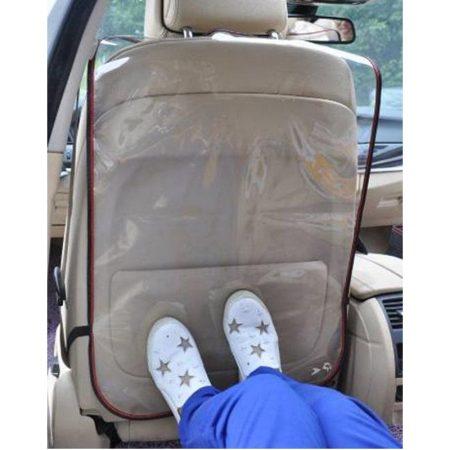 Ülésvédő háttámlára, átlátszó PVC 81x49 cm