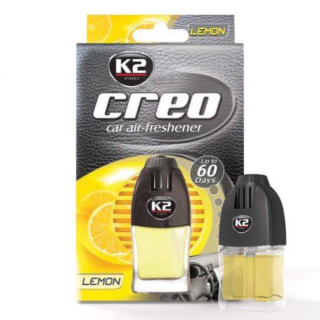 CREO autóillatosító Lemon 8 ml, szellőzőrácsra