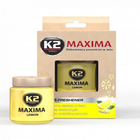 Illatosító, tégelyes zselé Maxima 50 ml Lemon